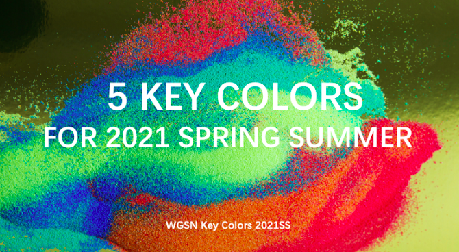 2021 spring and summer popular color trends