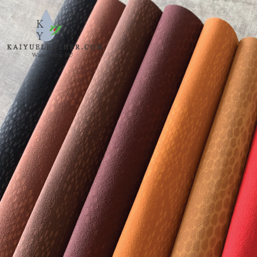 Water-based leather Manufacture